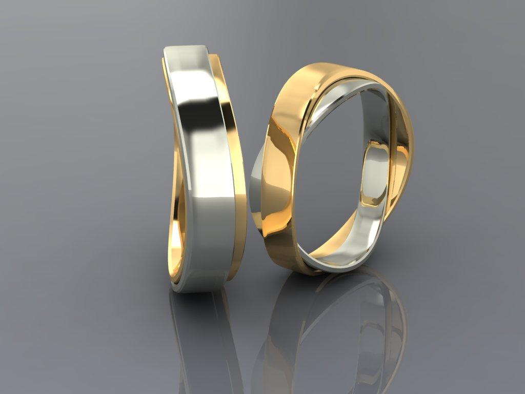 Обручальные Кольца Со Знаком Бесконечностифото